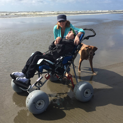 Econo Kit Beach Wheelchair Designed By The Disabled