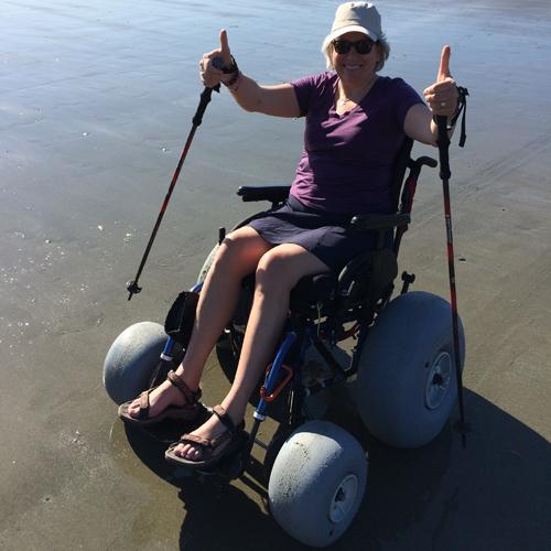beach wheelchairs econo kit